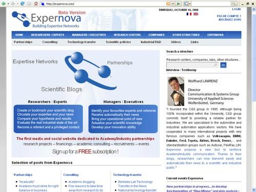 Expernova_home
