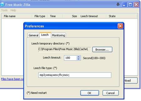 Free-music-zilla-configurat